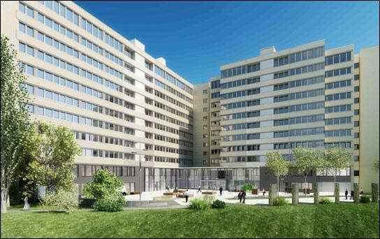 Kustermannpark, München. Sanierung Bürogebäude und Technisches Controlling TGA.