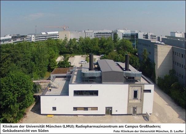 LMU – Campus Großhadern, Neubau Radiopharmazie